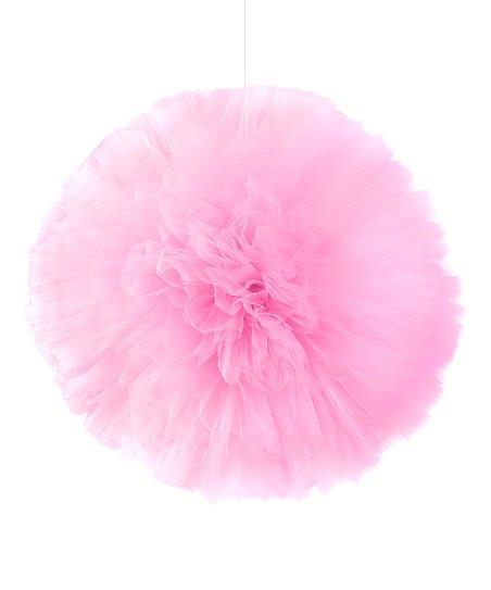Pink Hanging Pom-Pom