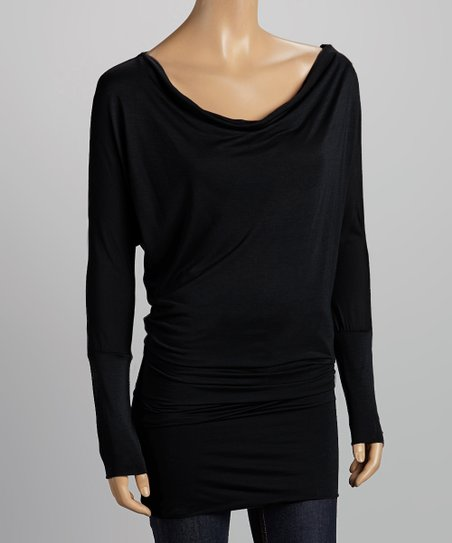 Black Dolman Tunic