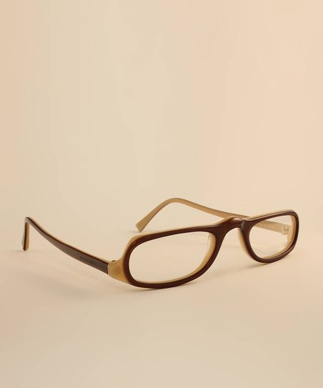 Brown Double Frame Eyeglasses