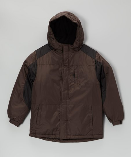 Brown Quilt Jacket