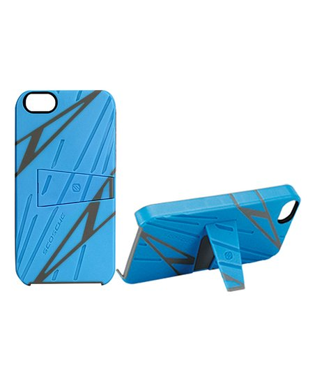Blue Sport Style kickBACK Case for iPhone 5
