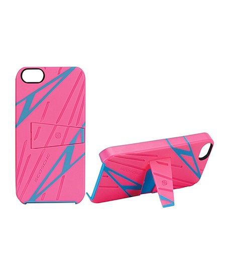 Pink Sport Style kickBACK Case for iPhone 5