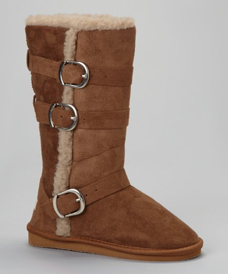 Chestnut Utha Buckle Boot