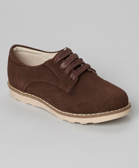 Brown Suede Comfort Shoe
