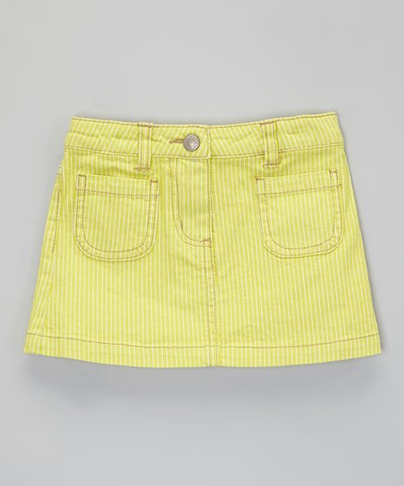 Yellow Stripe Skirt - Infant, Toddler & Girls