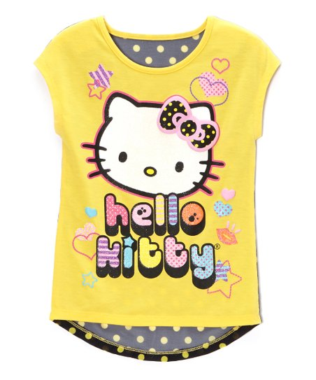 Aspen Gold 'Hello Kitty' Hearts Tee - Toddler & Girls