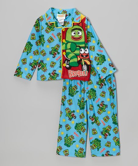 Blue Brobee Pajama Set – Toddler