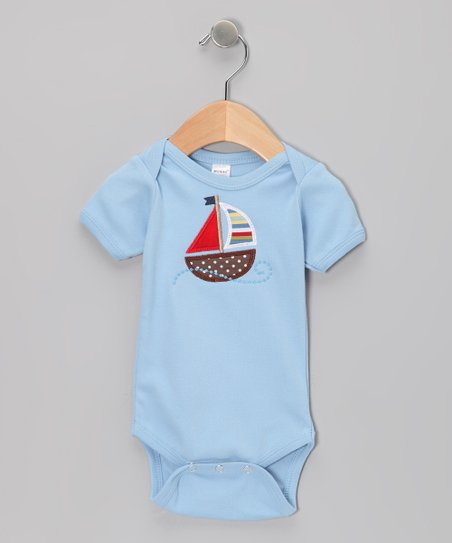 Sky Sailboat Wind Bodysuit - Infant