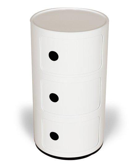 White Compo Storage Unit