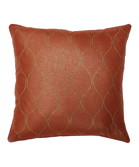 Bronze Darcy Feather Pillow