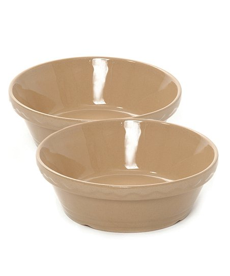 Cane 3-Cup Round Baker - Set of Two