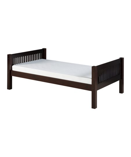Cappuccino Mission Platform Bed