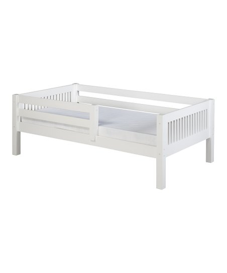 White Mission Guardrail Day Bed