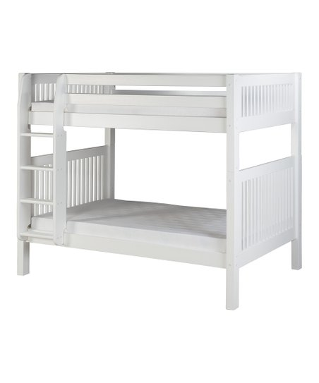 White Mission Bunk Bed