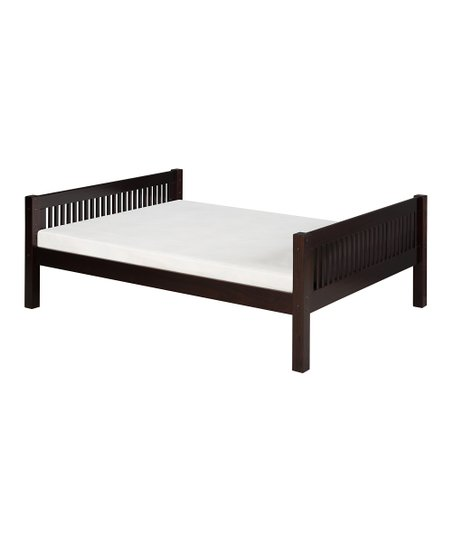 Cappuccino Mission Full Platform Bed