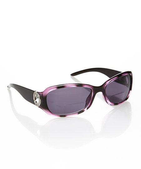 Purple & Black Parisian Sun Readers