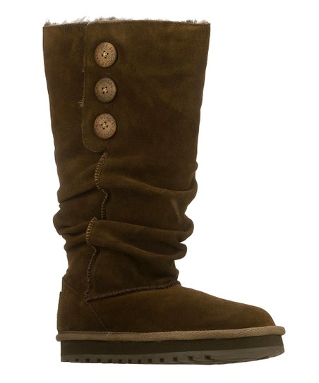 Chocolate Suede Brrrr Keepsakes Boot