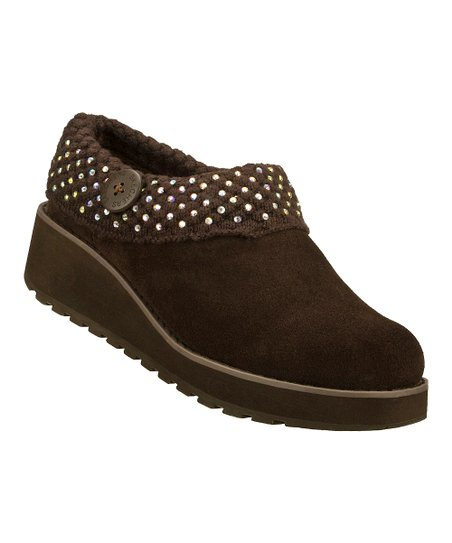 Chocolate Suede Diamond Sky Visioneers Clog