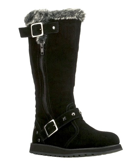 Black Suede Easy Peasy Keepsakes Boot