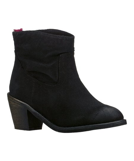 Black Aloft Ankle Boot