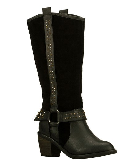 Black Higher Power Aloft Boot