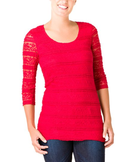 Rio Red Olanthe Top
