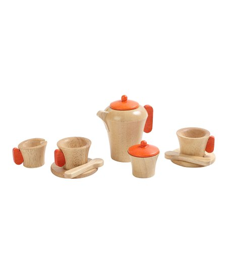 Natural Toy Tea Set