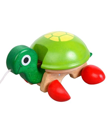 Tortoise Pull-Along Toy