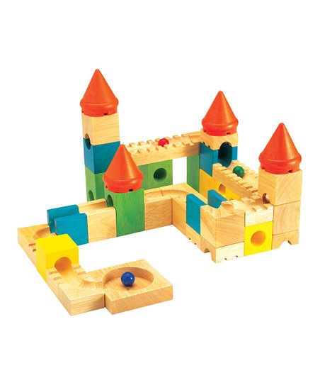 Colorful Castle Builder Set