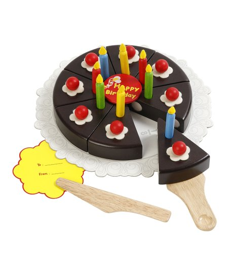 Chocolate Cake Party Set