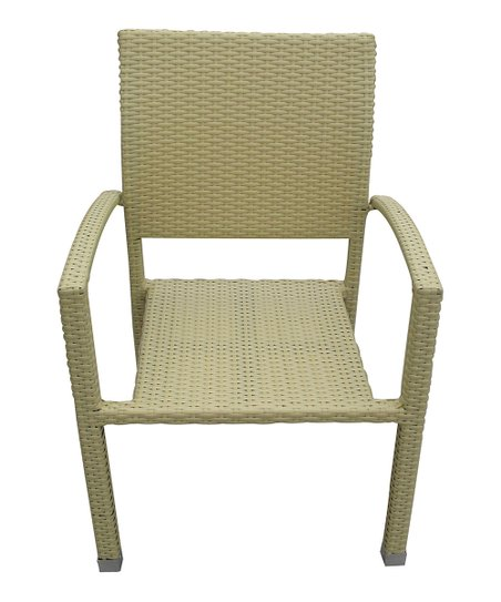 Tan Bella Patio Chair - Set of Two