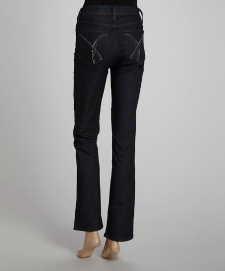 Dark Enzyme Marilyn Straight-Leg Jeans - Women & Plus