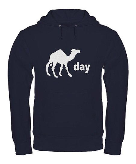 Navy & White Camel Day Hoodie	 - Women & Men