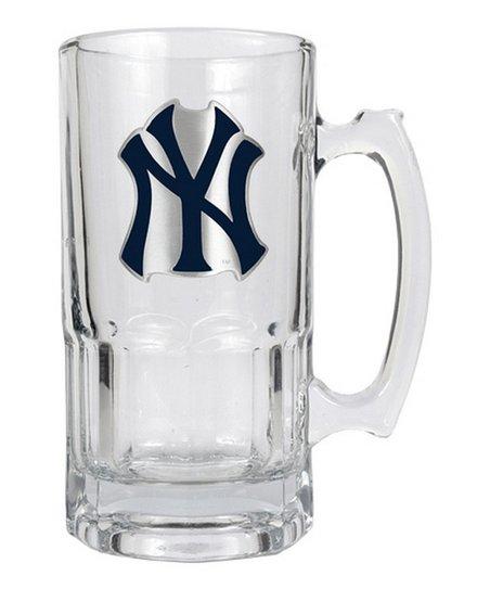 New York Yankees Glass Mug