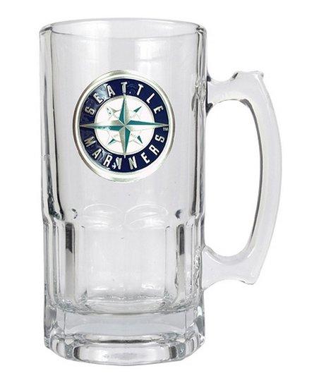Seattle Mariners Glass Mug