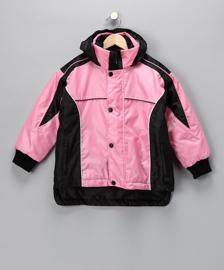 Mossi Pink Sledmate Jacket - Girls