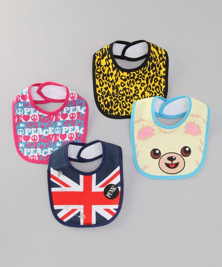 Hollywood Mirror Union Jack Bib Set