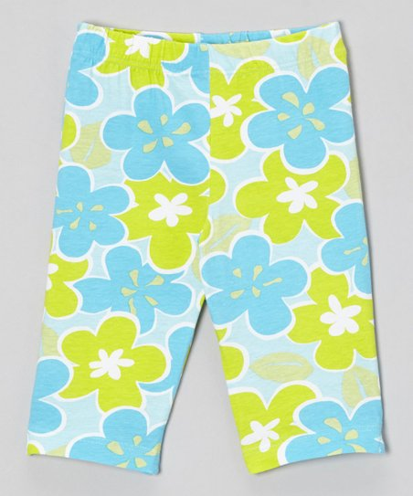 Lime Island Breeze Leggings - Infant, Toddler & Girls