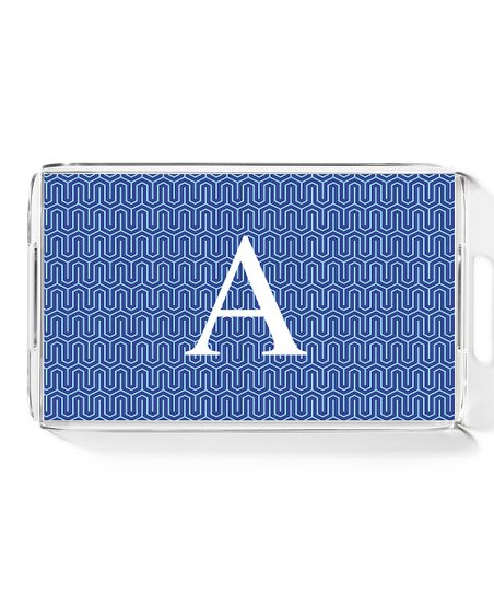 Blue Wave Large Initial Tray
