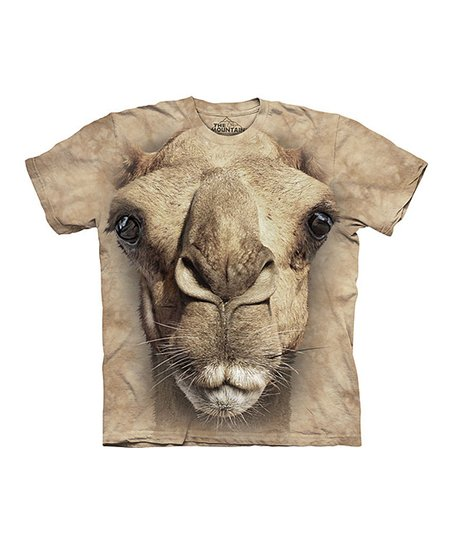 Tan Camel Face Tee - Toddler, Kids, Adult & Plus