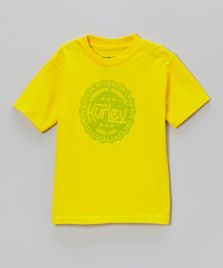 Citrus Yellow Inside Job Tee - Toddler & Boys