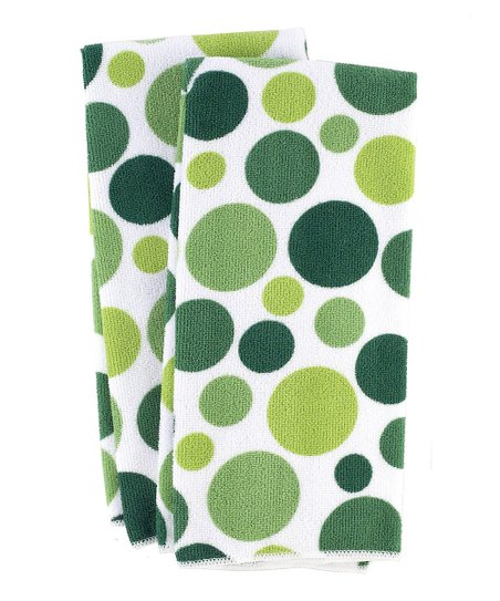 Cactus Dot Kitchen Towel - Set of Four