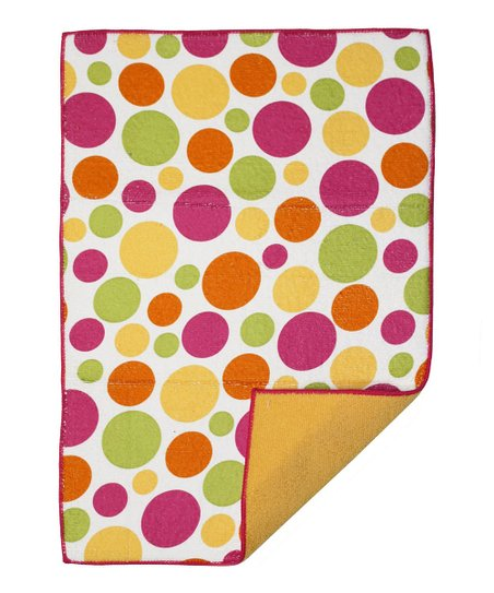 Warm Dot Reversible Drying Mat