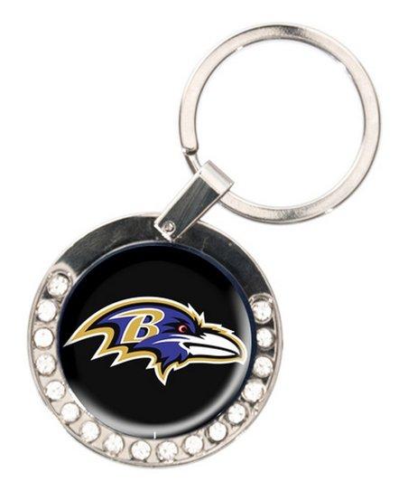 Baltimore Ravens Rhinestone Key Chain