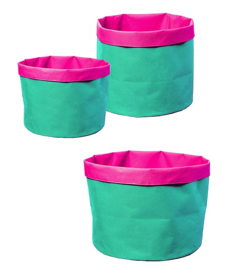 Turquoise Explosion Pot Cover Set