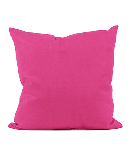Solid Fuschia Indoor/Outdoor Pillow