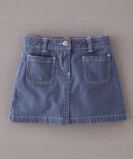 Blue Stripe Skirt - Infant, Toddler & Girls