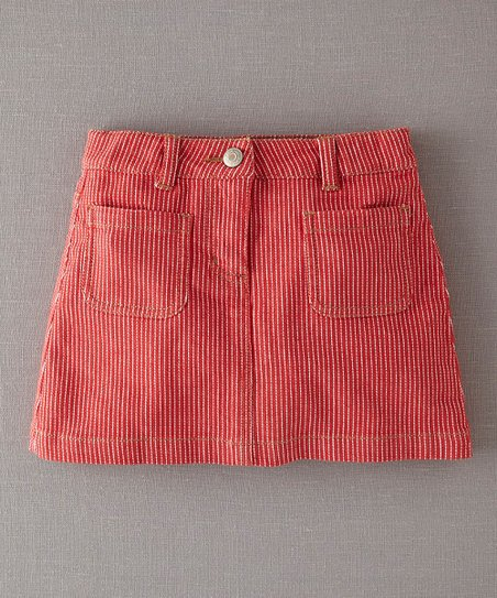 Red Stripe Skirt - Infant, Toddler & Girls