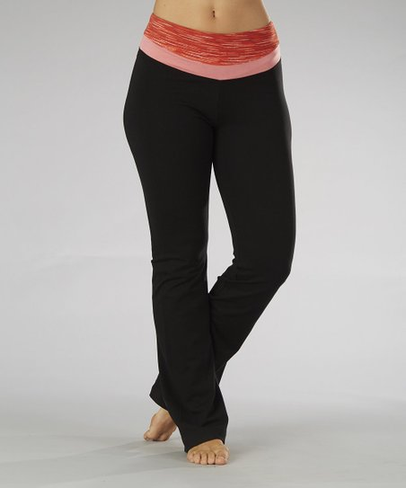 Spicy Orange Yoga Pants