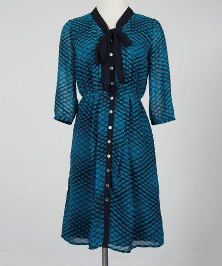 Bay Blue Revelry Dress